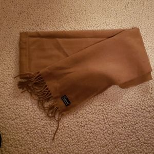 Tan soft beautiful scarf